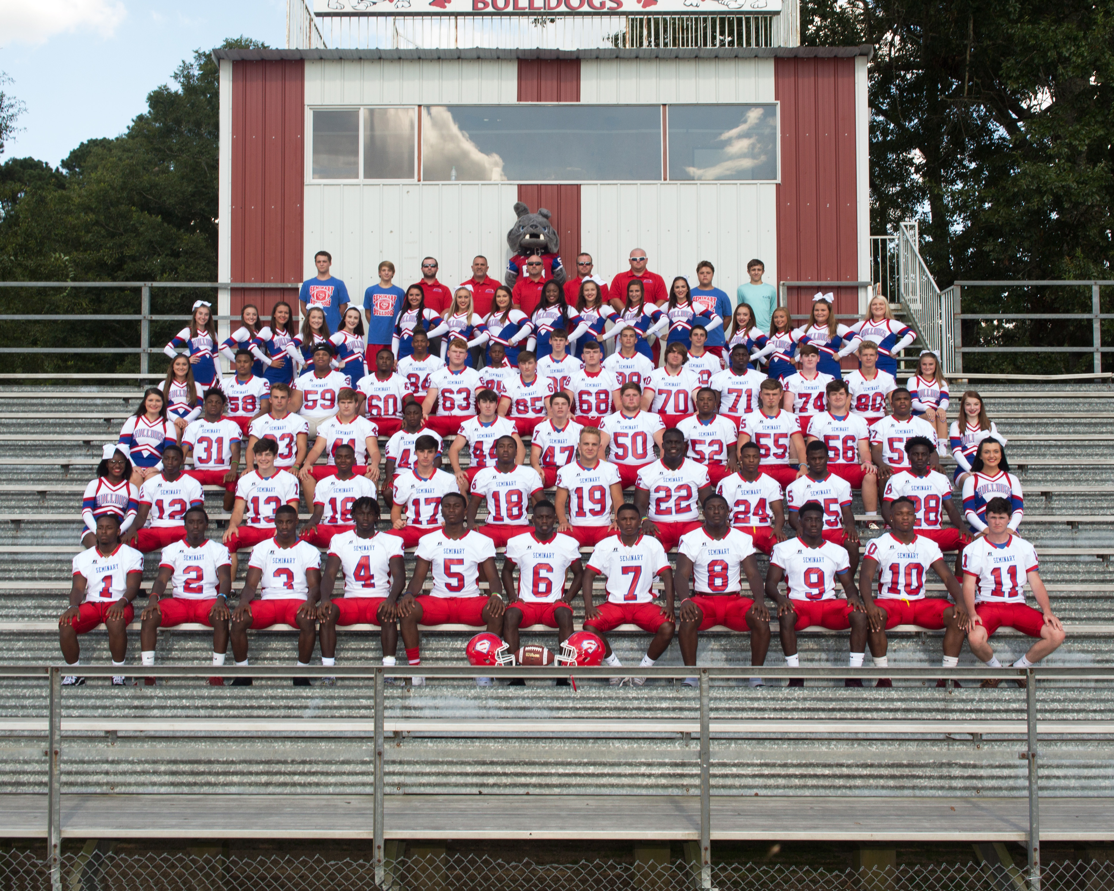 Seminary Bulldogs Football 2018