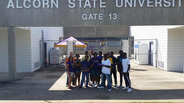 Visit to Alcorn State University, September 2016