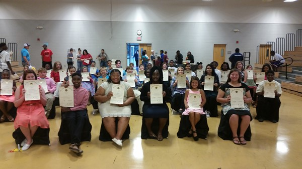 Junior Beta Induction Ceremony